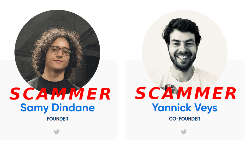 Picture of Samy Dindane and Yannick Veys from Hypefury